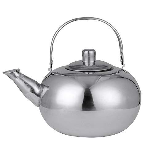 �ße Edelstahl Teekanne Kaffeekanne Wasserkocher Mit Tee Blatt Ei Filter Kaffeemaschine Küche Große Kapazität Kung Fu Tee-Set ()