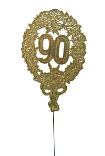 ubiläumszahl Gold 90