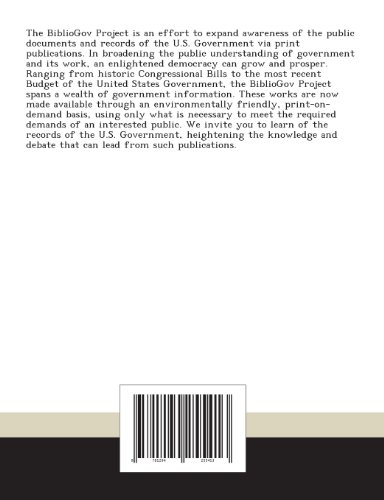 Crs Report for Congress: State, Foreign Operations Appropriations: A Guide to Component Accounts: March 30, 2009 - R40482
