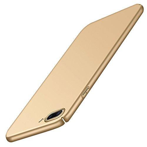 QINPIN Ultra-dünner Harter Hartplastik zurück Fall Deckung für iPhone 8 4.7inch/8Plus 5.5inch