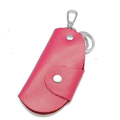 Happyit Leder-Auto-Schlüsselabdeckungs-Fall Männer und Frauen-allgemeine hohe Art und Weise für alle Auto-Schlüssel