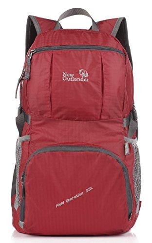 outlander-2197-gear-sac-a-dos-pliable-de-voyage-leger-rouge-rouge