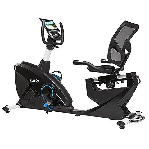 Liegeheimtrainer LX900 Ergometer Sitz Heimtrainer Fitnessbike Bluetooth 4.0 Smartphone Steuerung