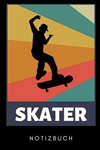 SKATER NOTIZBUCH: A5 KALENDER 2020  Skateboarder Geschenk   Skateboard Buch   Kinder Erwachsene   Skateboarding   für Skateboardfahrer   Geschenke für Jugendliche