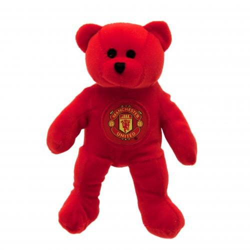 Manchester United FC Official Football Gift Mini Bear – A Great Christmas / Birthday Gift Idea For Men And Boys