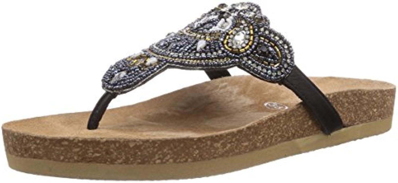 Buffalo 5201 GOAT Damen Zehentrenner 2018 Letztes Modell  Mode Schuhe Billig Online-Verkauf