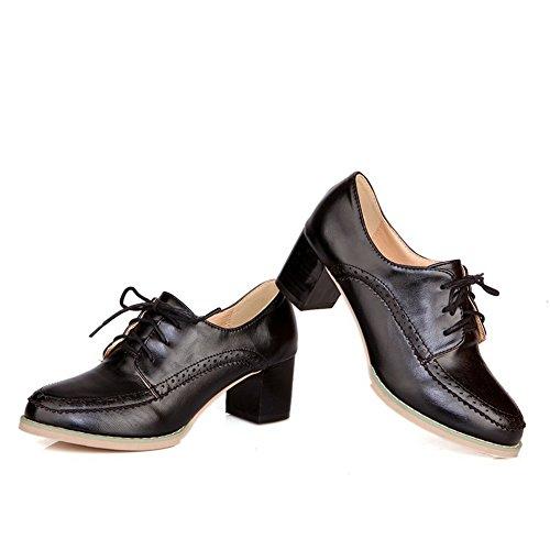 Balamasa Salt Pepper-shoes, Chaussures À Talon Chaton Noir (noir)