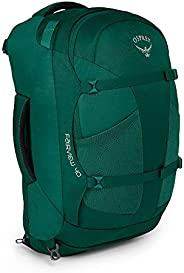 Osprey Women Fairview 40 Hiking Travel Backpack - Rainforest Green, Small/Medium