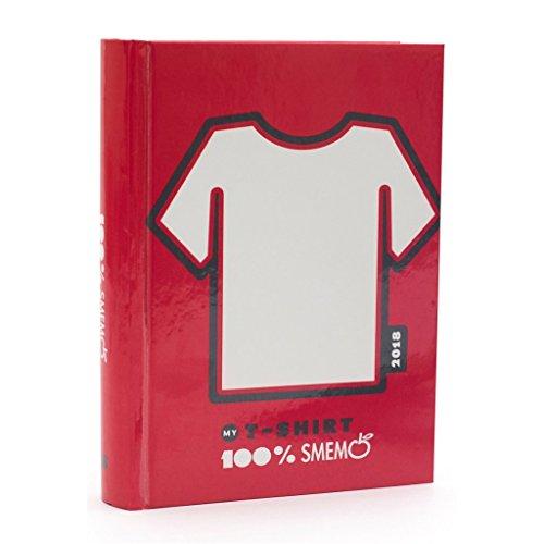 Diario agenda smemoranda 16 mesi 2018 11x15cm special edition t-shirt 1pz