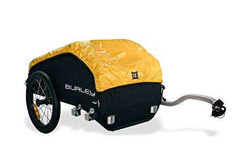Burley  Fahrradlastenanhänger Nomad, schwarz/gelb, One Size, 3091960000