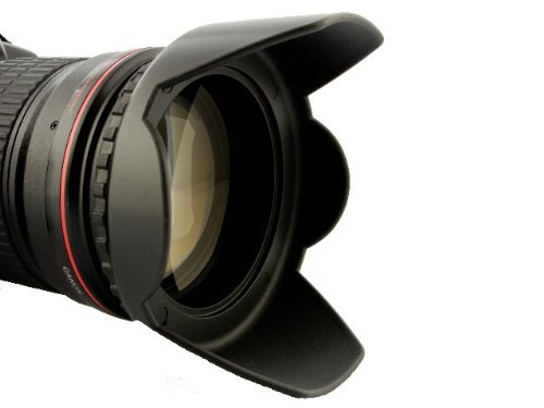 Sonnenblende Universal 62mm z.B für Tamron AF 28-300mm XR DI VC/ AF 70-300mm DI LD / AF 18-200mm XR DI II u.v.a. + Pro Lens Cap 62mm