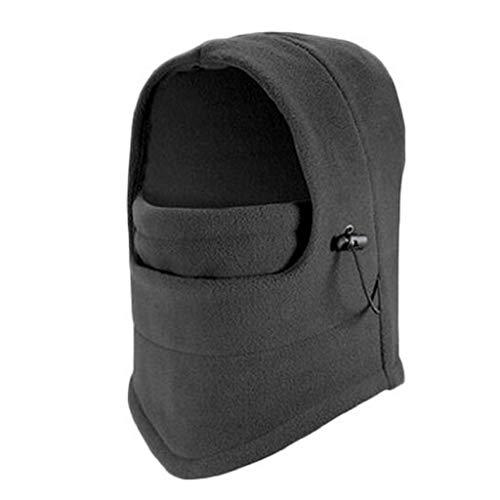 VJGOAL Damen Caps, 1PC Damenmode aus Fleece für Damen Hals Winterwärmer Gesichtsmaske Skifahren Radfahren Wandern Maske (Grau,1 PC)