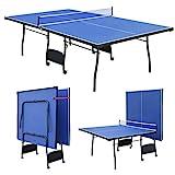 homelikesport Mesa de Tenis para Interiores Space Saver con Juego de Redes