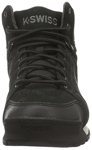 K-Swiss Norfolk, Baskets Basses Homme Noir (Black/Beluga 073)