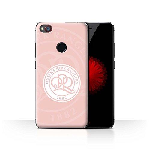 Offiziell Queens Park Rangers FC Hülle / Case für ZTE Nubia Z11 Mini / Rosa Muster / QPR Fußball Crest Kollektion