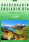 Carte routière - Oberengadin - Engiadin'Ota