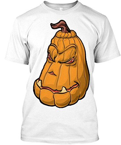 amen / Herren / Unisex von Teespring | Originelles Outfit für jeden Anlass und lustige Geschenksidee - Scary Pumpkin Tshirt Halloween Creepy (Scary Halloween-outfits Uk)