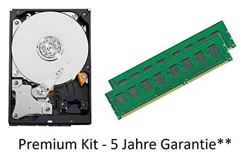 ANTARRIS 8GB 2X 4GB DDR3 Ram Arbeitsspeicher + 3TB HDD Speicher ASUS P6T Deluxe, P6T Deluxe V2, P6T SE, P6TD Deluxe 100% Leistung inkl. Kompatibilitäts Garantie
