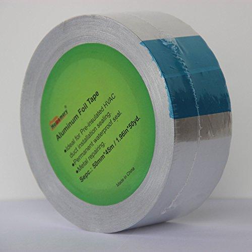 homemory-aluminum-foil-tape-50mm-x-45m-hvac-tape-32-mil-adhesive-metal-repair-foiled-tape-work-on-fu