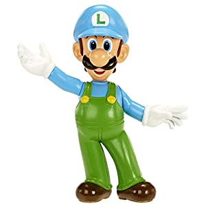 Nintendo Mini Figur (6cm) W2 – Ice Luigi
