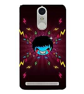 EPICCASE Crying demon boy Mobile Back Case Cover For Lenovo K5 Note (Designer Case)