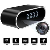 Orologio con telecamera spia nascosta WiFi | Full HD 1080P | Videocamera portatile in tempo reale senza fili di piccole dimensioni