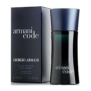 Giorgio Armani Code Eau de Toilette Spray for Men - 50 ml