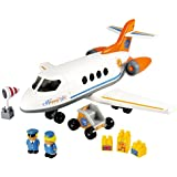 Smoby - Avión happy jet (3045)