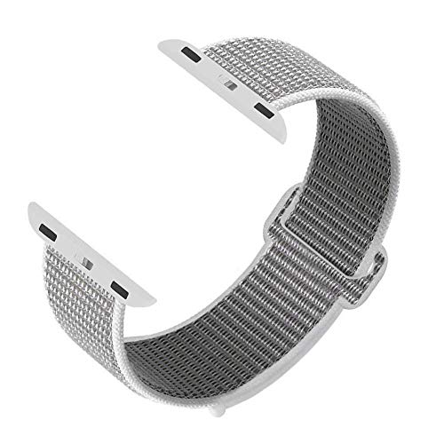 syosin cinturino per apple watch, morbido nylon sport cinturini di ricambio per apple watch serie 1, serie 2, serie 3 serie 4, 38mm 42mm