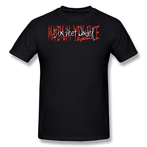 Men's Six Feet Under Band Logo T-shirt Black