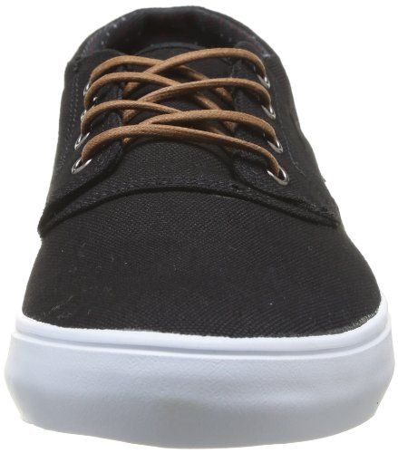 Lakai Camby Mid, Baskets mode homme Noir (Black Canvas)
