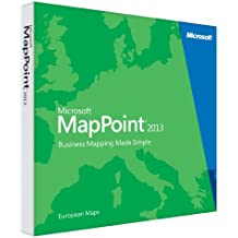 Microsoft MapPoint 2013 European Maps (PC)