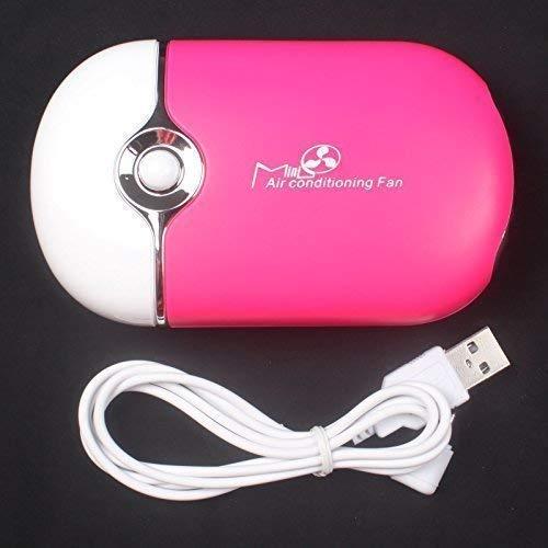 Anmas Box USB Mini-ventilator Klimaanlage Gebläse für Wimpernverlängerung - rosa