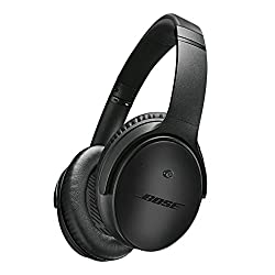 Bose QuietComfort 25 Special Edition Headphones with Mic for Apple Devices (Triple Black)