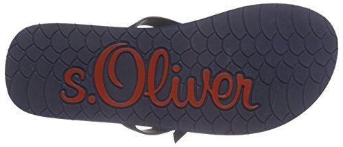 s.Oliver 27112 Damen Zehentrenner Blau (NAVY 805)