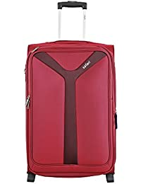 Safari Fabric 55 cms Red Soft Sided Carry-On (Kayak 2W 55  EC RED)