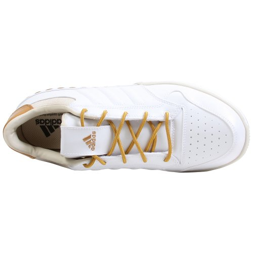 Adidas Lux Low Basketball Chaussures Hommes Taille 7.5 White/Beige/Tan
