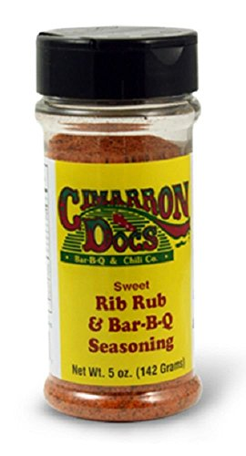 Cimarron Doc's Sweet Rib Rub Seasoning - 187g (6.6 oz)