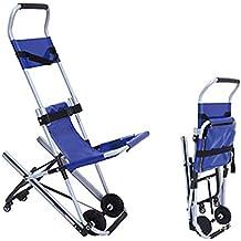 Sillas médicas unidad de transporte portátil silla de lujo para escaleras silla de evacuación médica para
