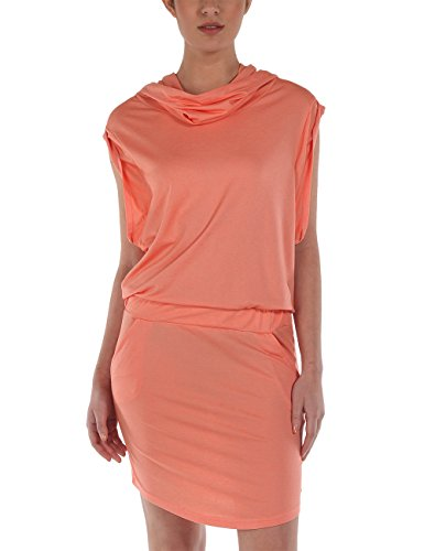 Bench Damen Kleid Jerseykleid Offsetta orange (Coral) Medium