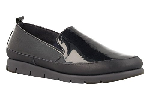 AEROSOLES Fast Lane Shoe Naplack Marino Schwarz