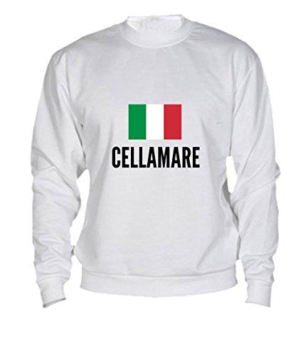 Felpa Cellamare city White