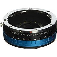 Fotodiox Pro Adaptateur de monture d'objectif pour Objectif Canon EOS EF/ EF-S à Caméra Numérique sans Miroir -Mirrorless Digital Camera  Fujifilm X mount comme X-Pro1/ X-E1/ X-M1/ X-A1/ X-E2/ et X-T1