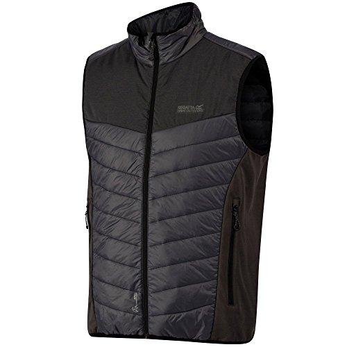 Regatta Halton B/W Hybrid Vest Sleeveless T-Shirt, Mens, RMB075