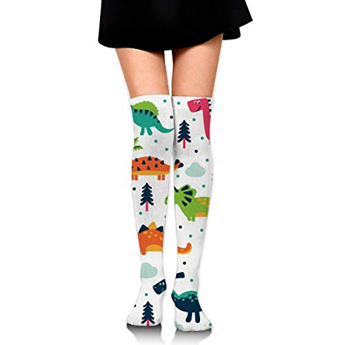 SHENGP Women Lady Girl Cartoon Cute Short Pussy Cat Knee High Fashion Comfortable Boots Socks Cotton Athletic Over The Knee Tube Socks Thigh High Stockings for Great Gifts