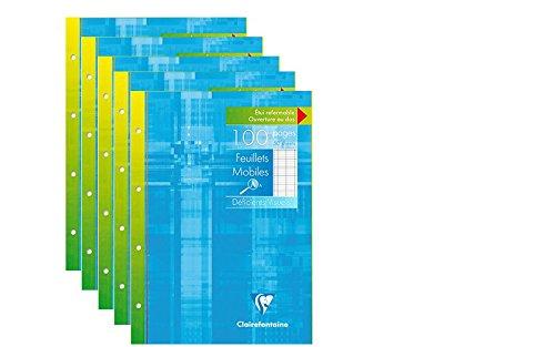 clairefontaine-lot-de-5-etui-de-100-copies-simples-perforees-grands-carreaux-100-pages-a5-17x22cm