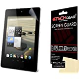 TECHGEAR® CLEAR LCD Screen Protector Guard with Cleaning Cloth & Application Card For Acer Iconia A1 / A1-810 & With 3G A1-811