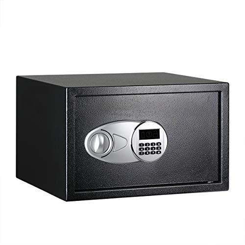 AmazonBasics - Caja fuerte 34 l, color negro