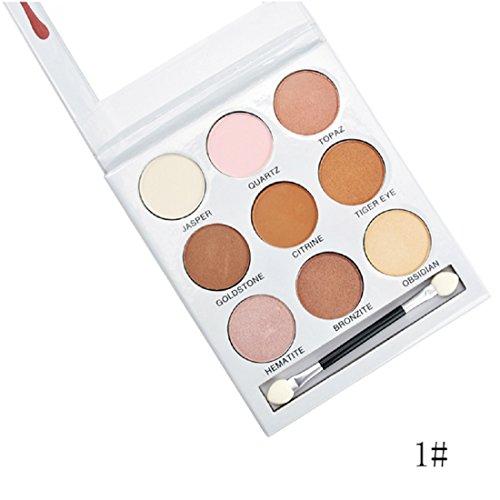 Kiss Beauty KBSHADOW Pressed Powder Eyeshadow Palette (Set 1)