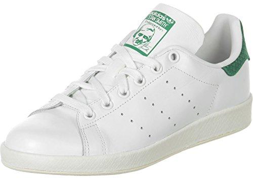 adidas Stan Smith Luxe W White White Green Blanc et vert